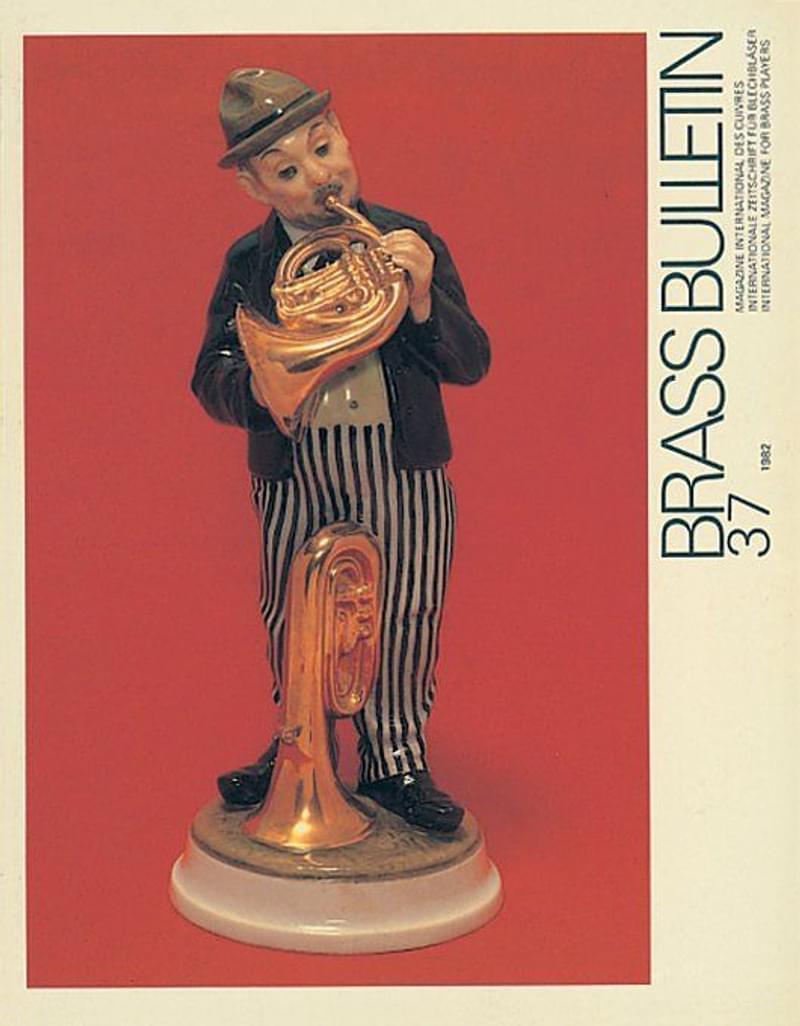Brass Bulletin No 37 1982
