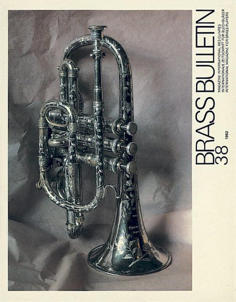 Brass Bulletin No 38 1982