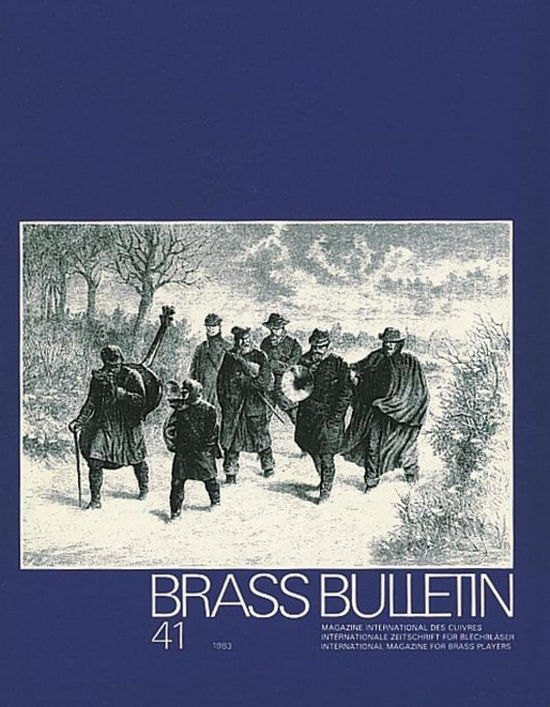 Brass Bulletin No 41 1983