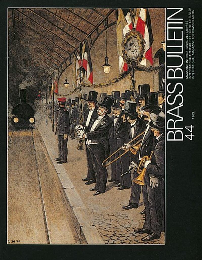 Brass Bulletin No 44 1983