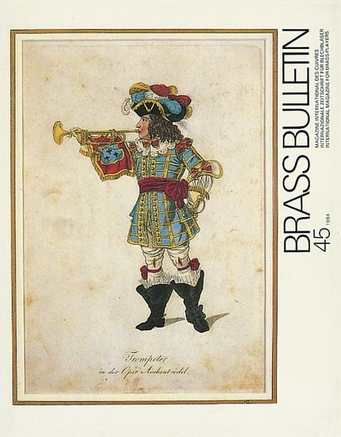 Brass Bulletin No 45 1984