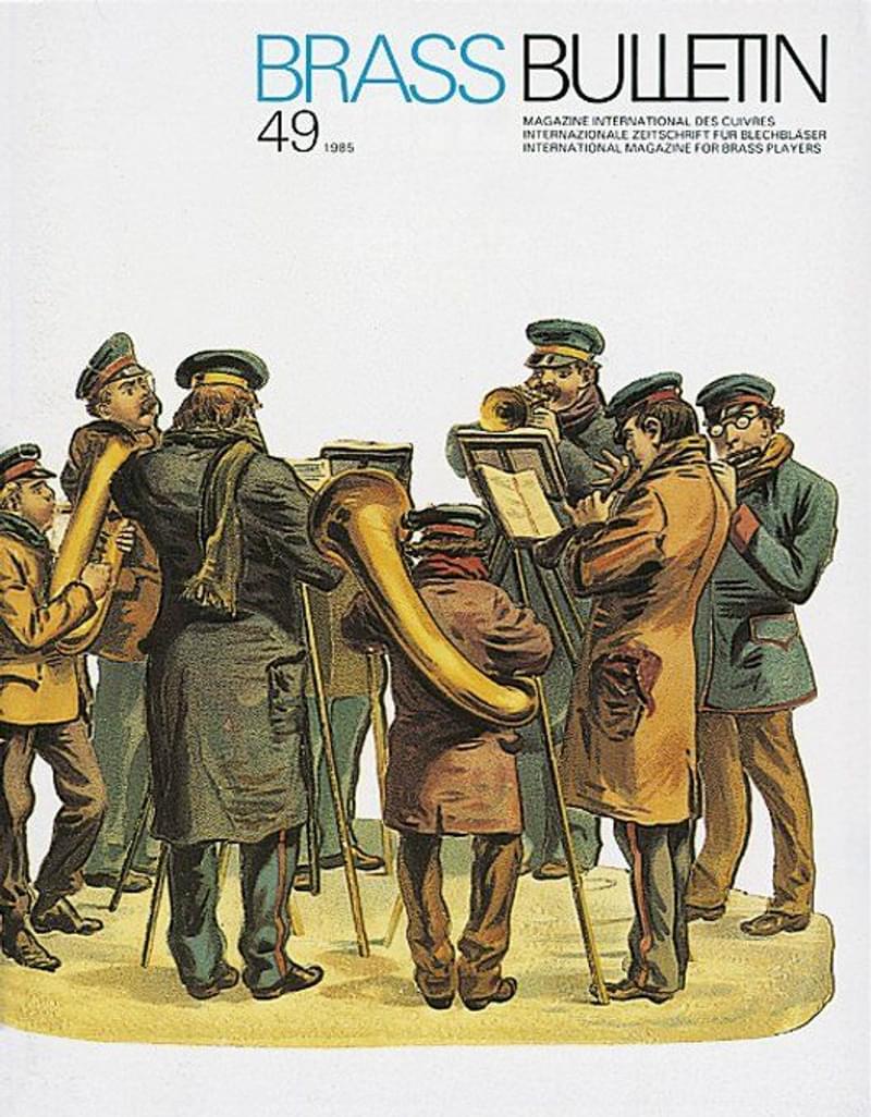 Brass Bulletin No 49 1985
