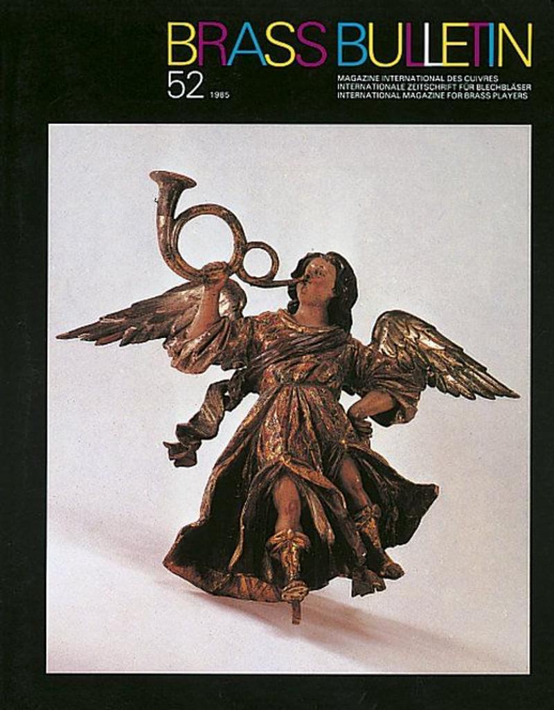 Brass Bulletin No 52 1985