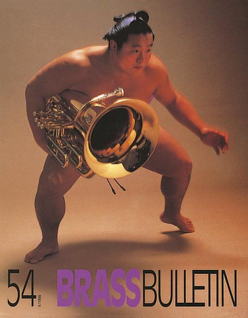 Brass Bulletin No 54 1986