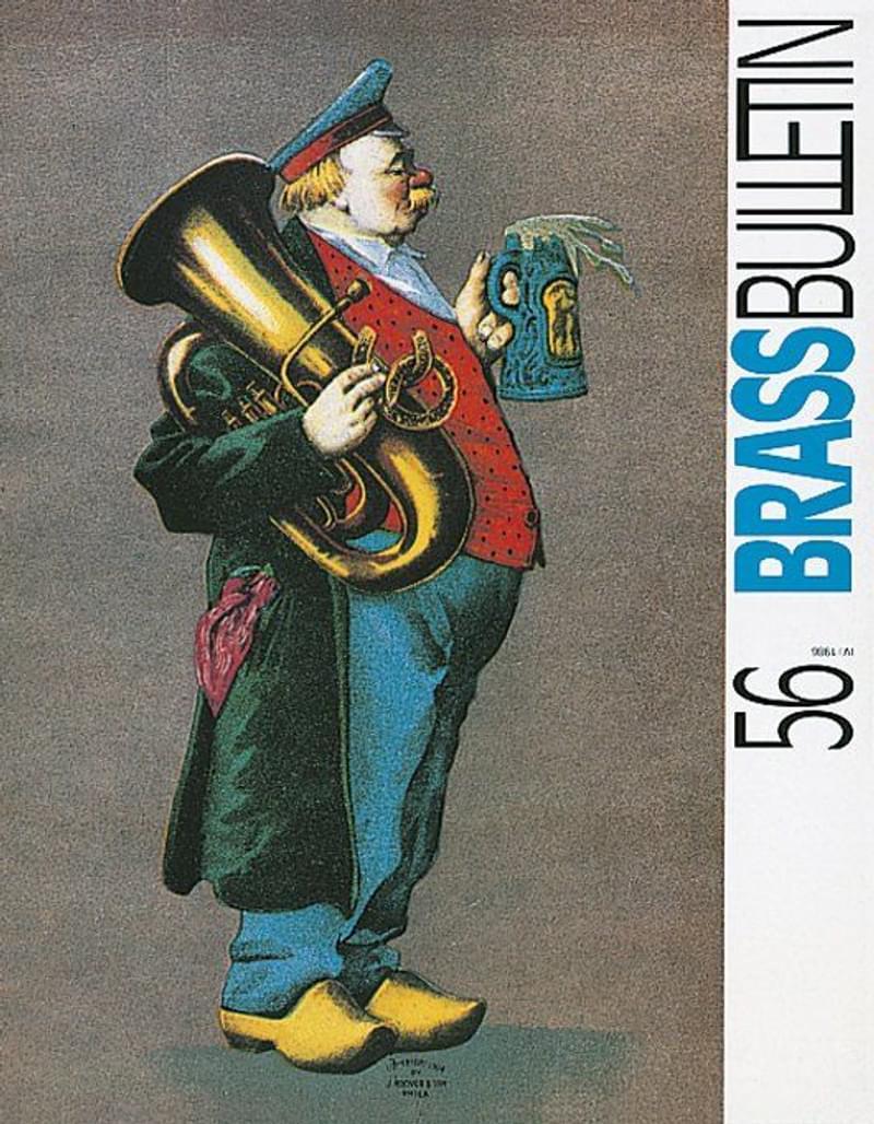Brass Bulletin No 56 1986