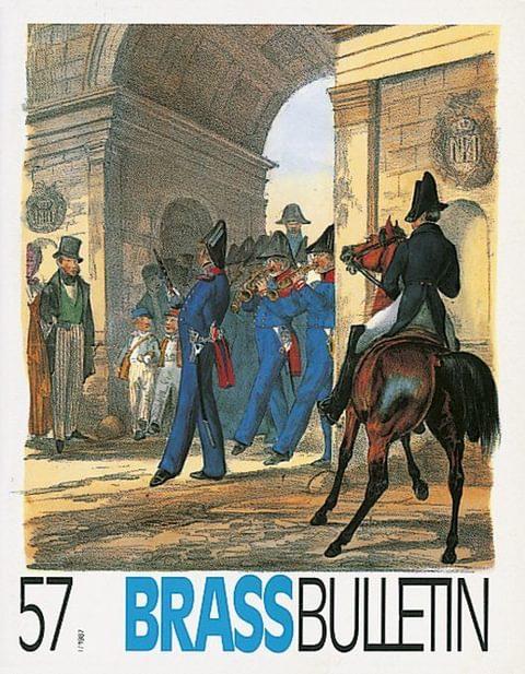 Brass Bulletin No 57 1987