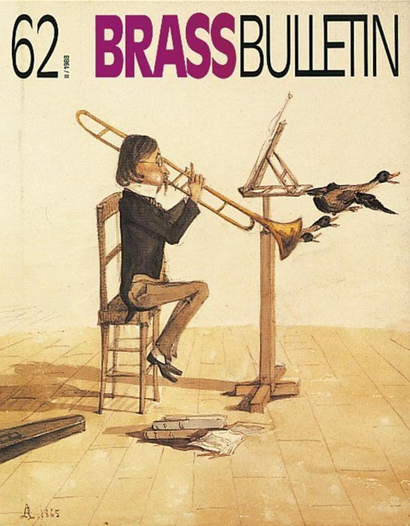 Brass Bulletin No 62 1988
