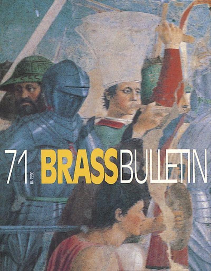 Brass Bulletin No 71 1990