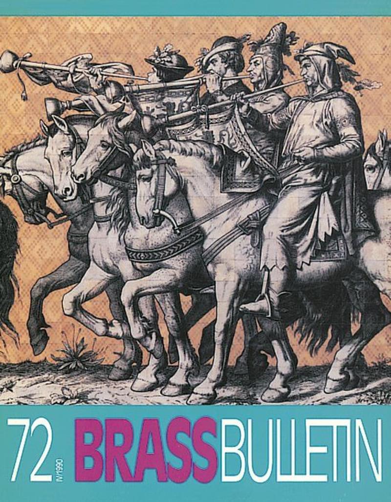 Brass Bulletin No 72 1990