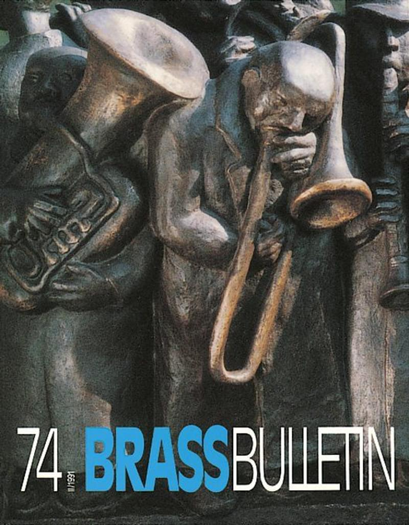 Brass Bulletin No 74 1991