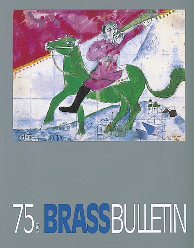 Brass Bulletin No 75 1991