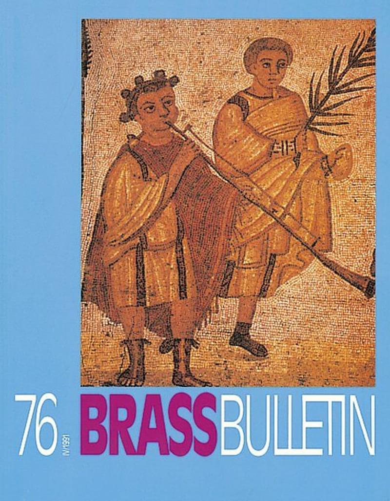 Brass Bulletin No 76 1991