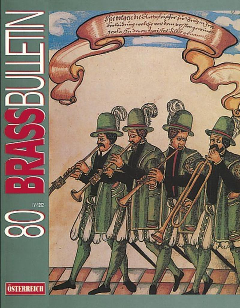 Brass Bulletin No 80 1992