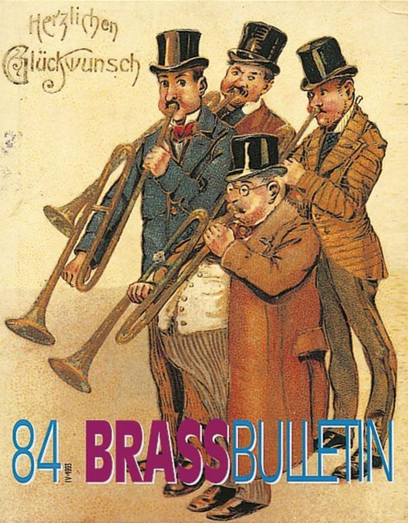 Brass Bulletin No 84 1993