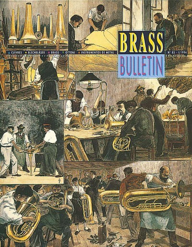 Brass Bulletin No 85 1994