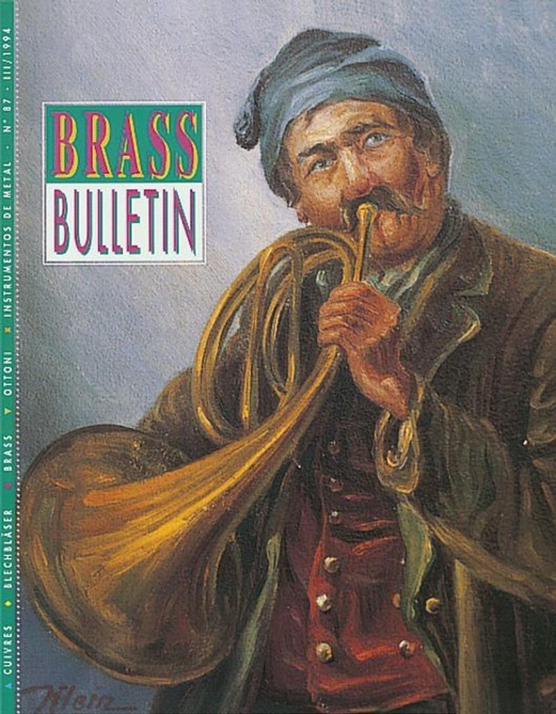 Brass Bulletin No 87 1994
