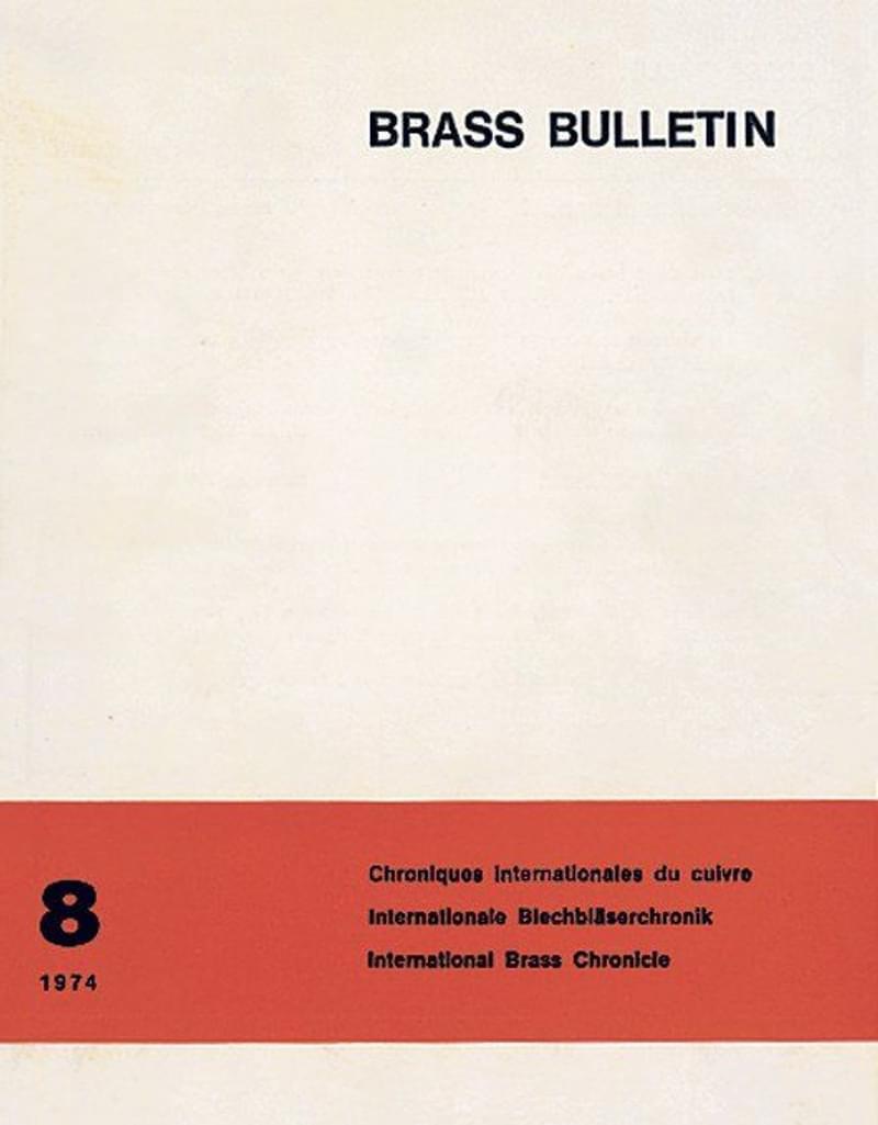 Brass Bulletin No 8 1974