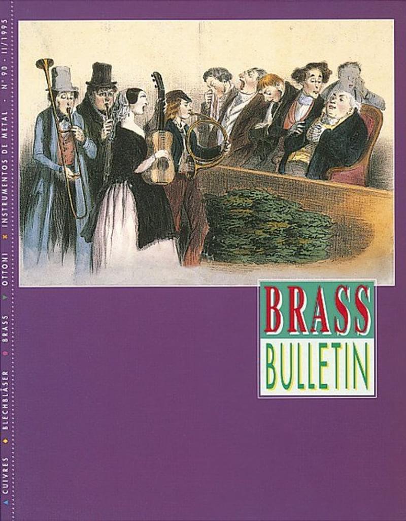 Brass Bulletin No 90 1995