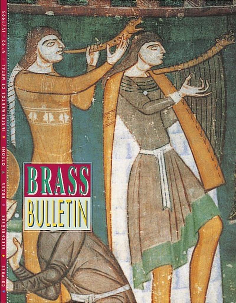 Brass Bulletin No 92 1995