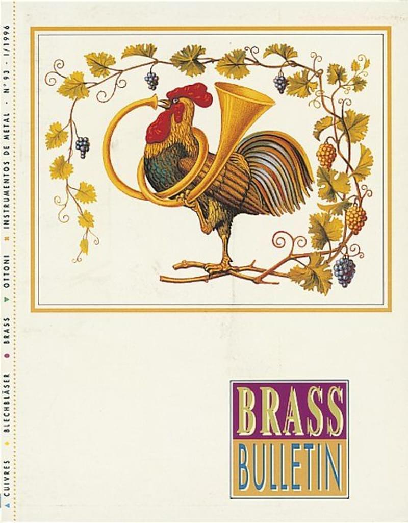 Brass Bulletin No 93 1996