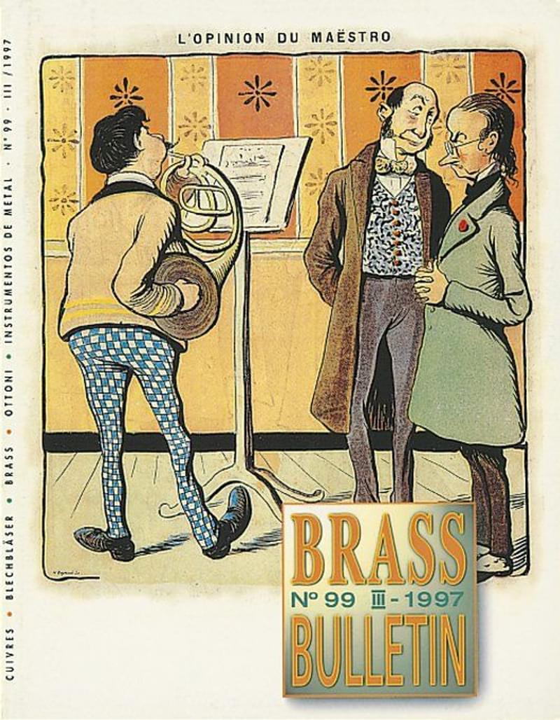 Brass Bulletin No 99 1997