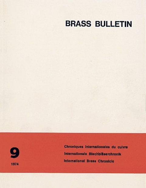 Brass Bulletin No 9 1974
