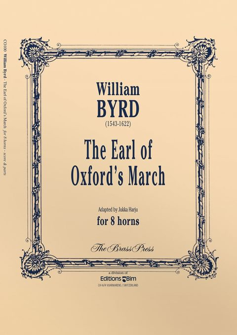 Byrd William Earl Of Oxford March Co100
