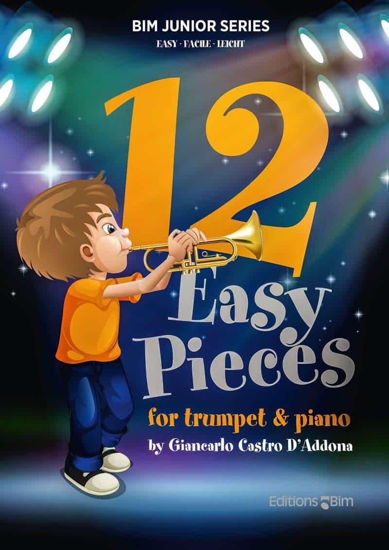 Castro Giancarlo 12 Easy Pieces Tp341