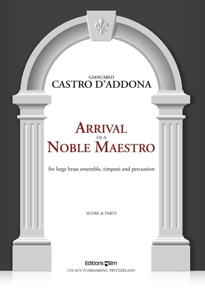 Castro Giancarlo Arrival Of A Noble Maestro Ens203