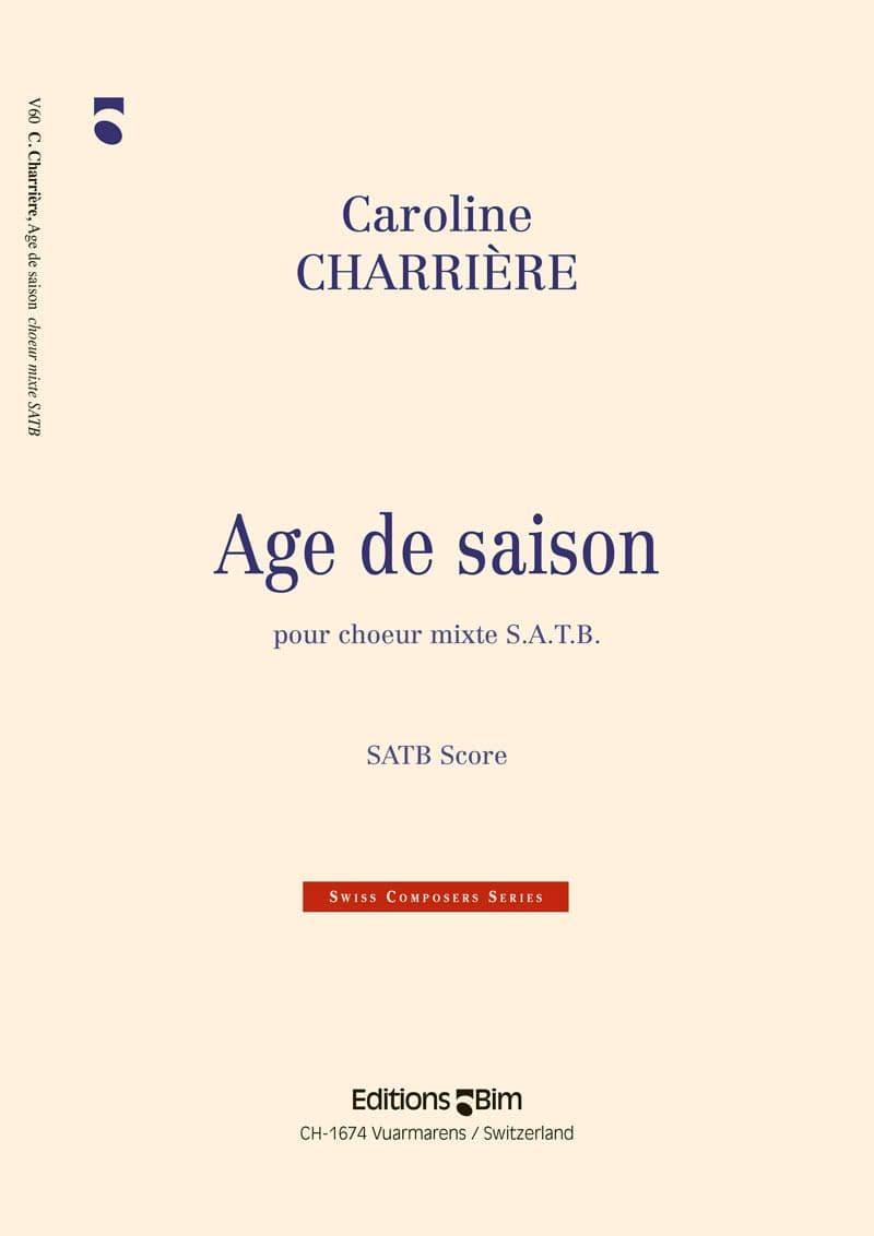Charriere Caroline Age De Saison V60
