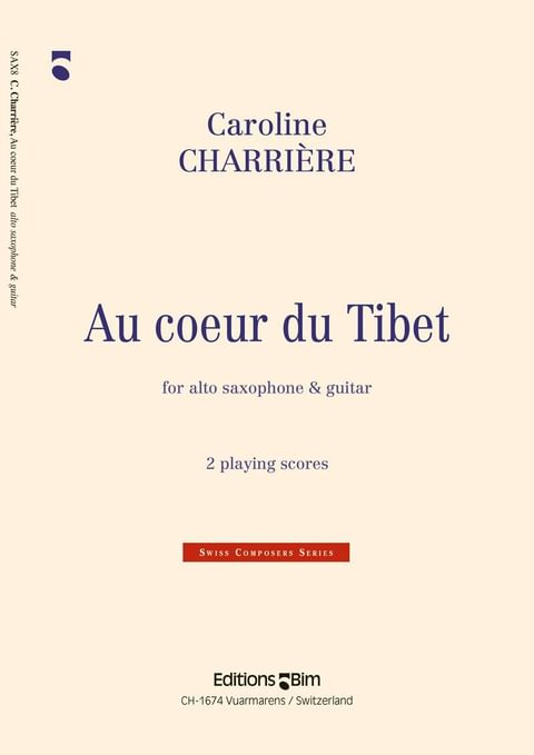 Charriere Caroline Au Coeur Du Tibet Sax8