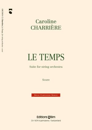 Charriere Caroline Le Temps Orch65