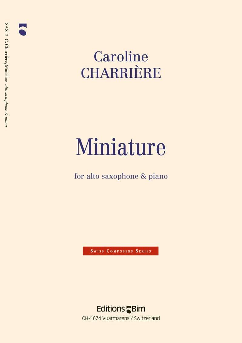 Charriere Caroline Miniature Sax12