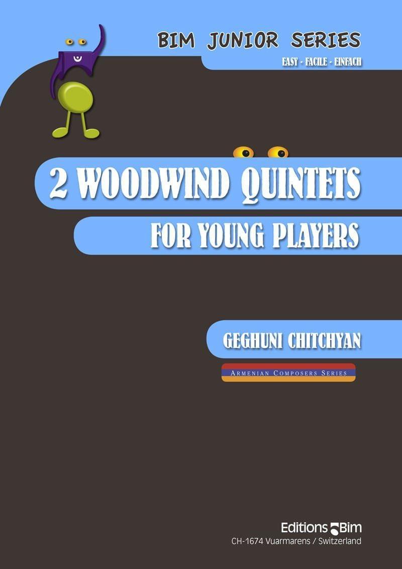 Chitchyan Geghuni 2 Woodwind Quintets Mcx28