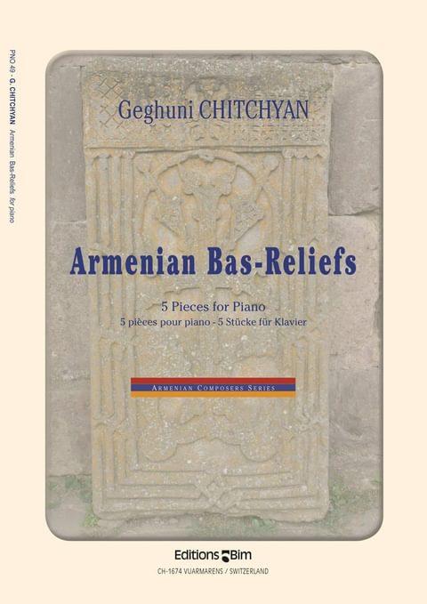 Chitchyan Geghuni Armenian Bas Relief Pno49