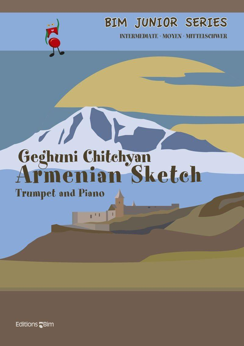 Chitchyan Geghuni Armenian Sketch Tp235