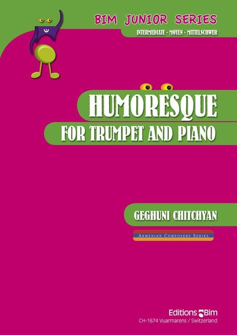 Chitchyan Geghuni Humoresque Tp236
