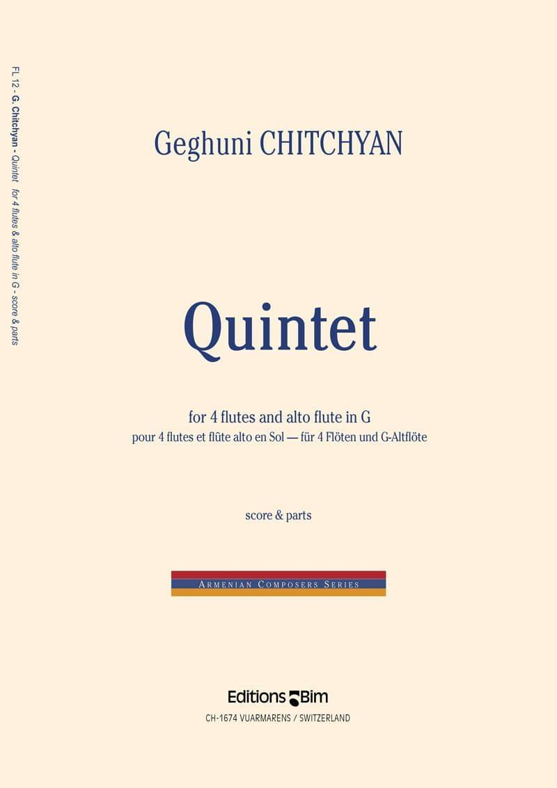 Chitchyan Geghuni Quintet Fl12