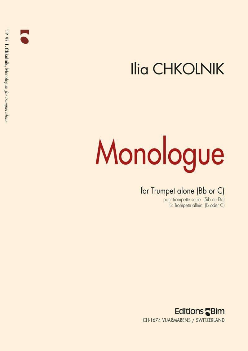 Chkolnik Ilia Monologue Tp97