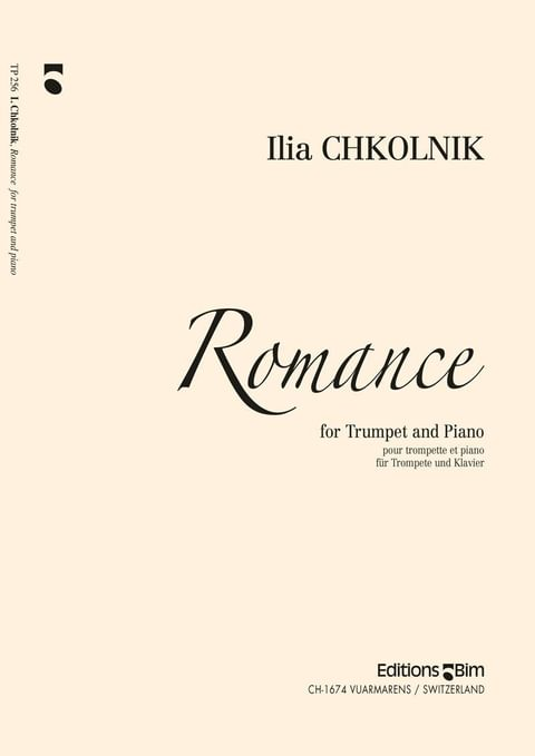 Chkolnik Ilia Romance Tp256