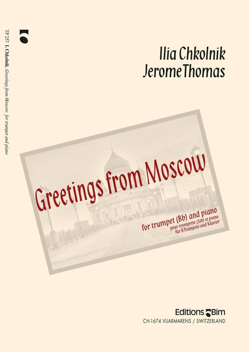 Chkolnik Ilia Thomas Jerome Greetings From Moscow Tp257