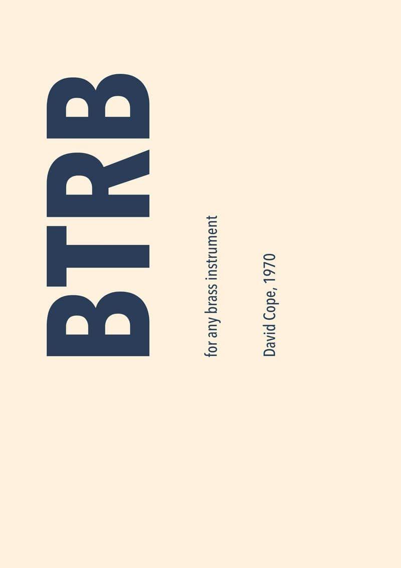 Cope David Btrb Tb77