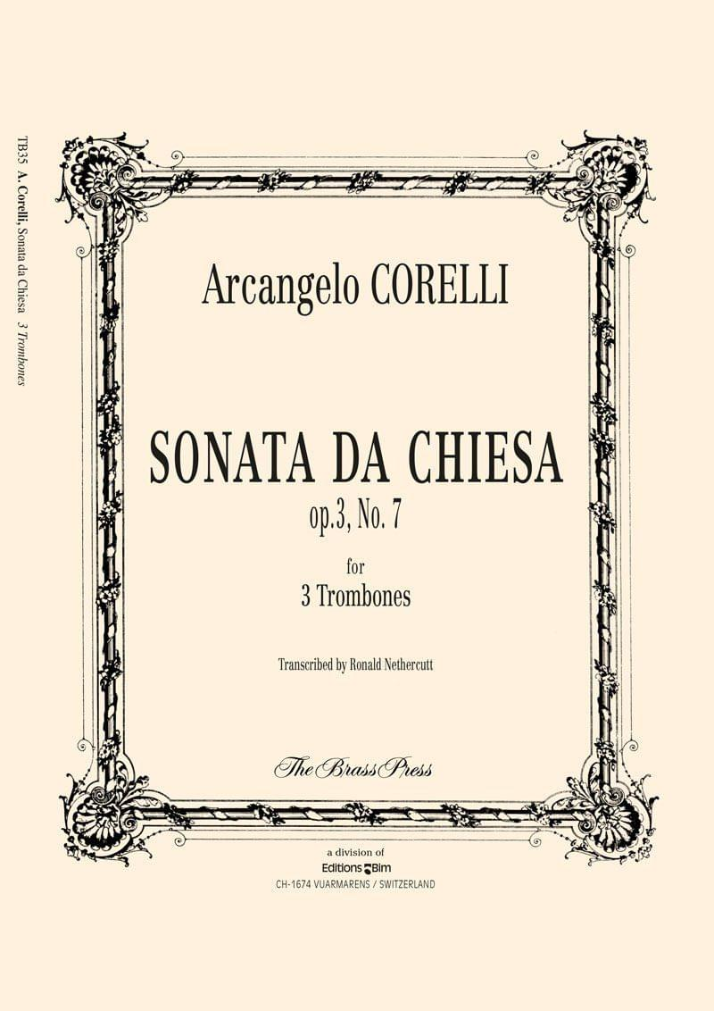 Corelli Arcangelo Sonata Da Chiesa Tb35
