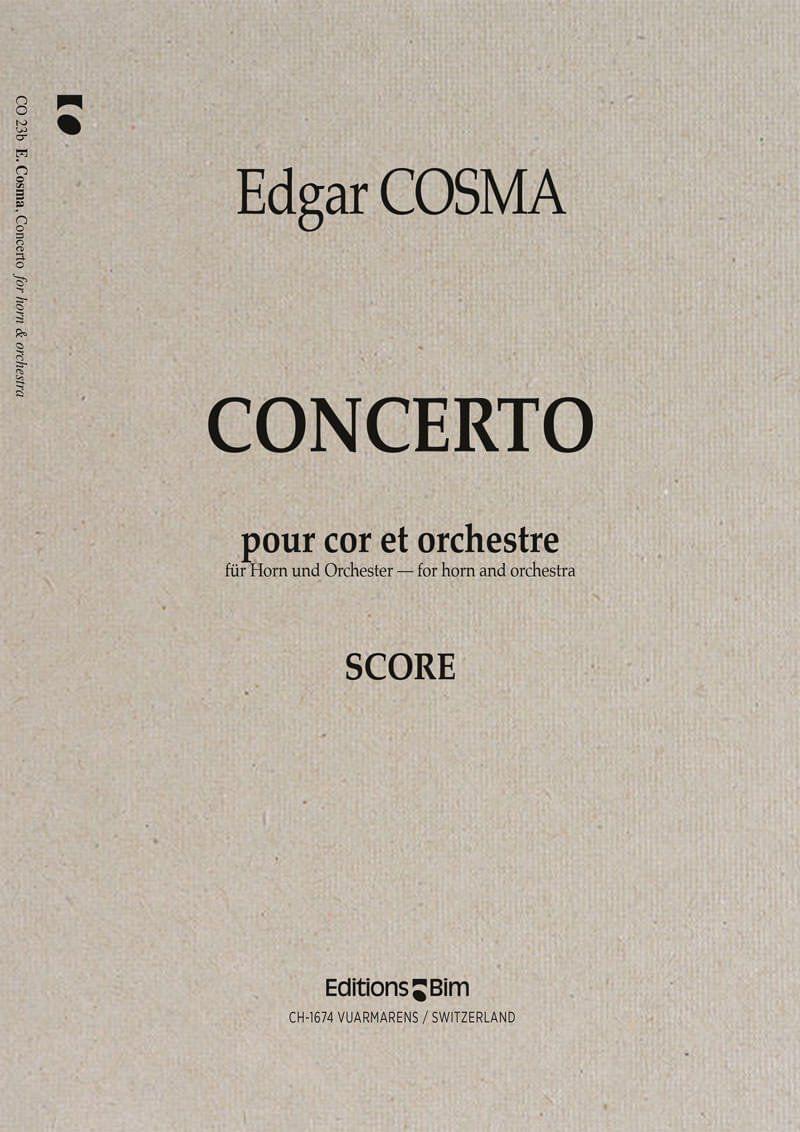 Cosma Edgar Concerto Cor Co23