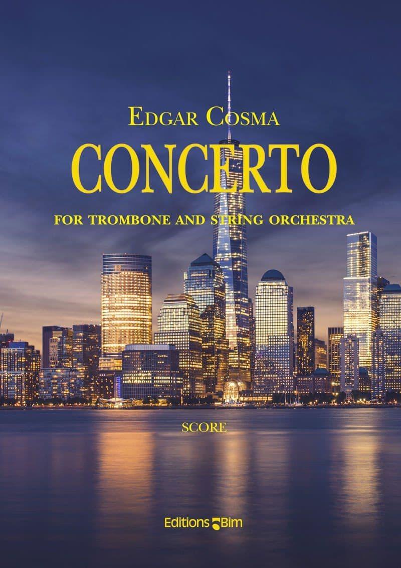 Cosma Edgar Concerto Trombone Tb17