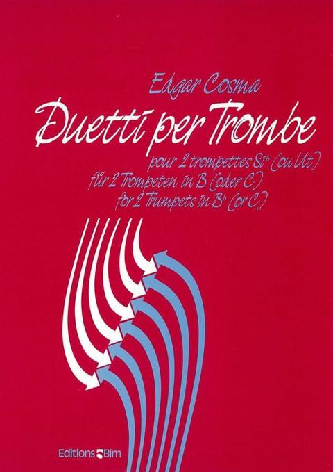 Cosma Edgar Duetti Per Trombe Tp25