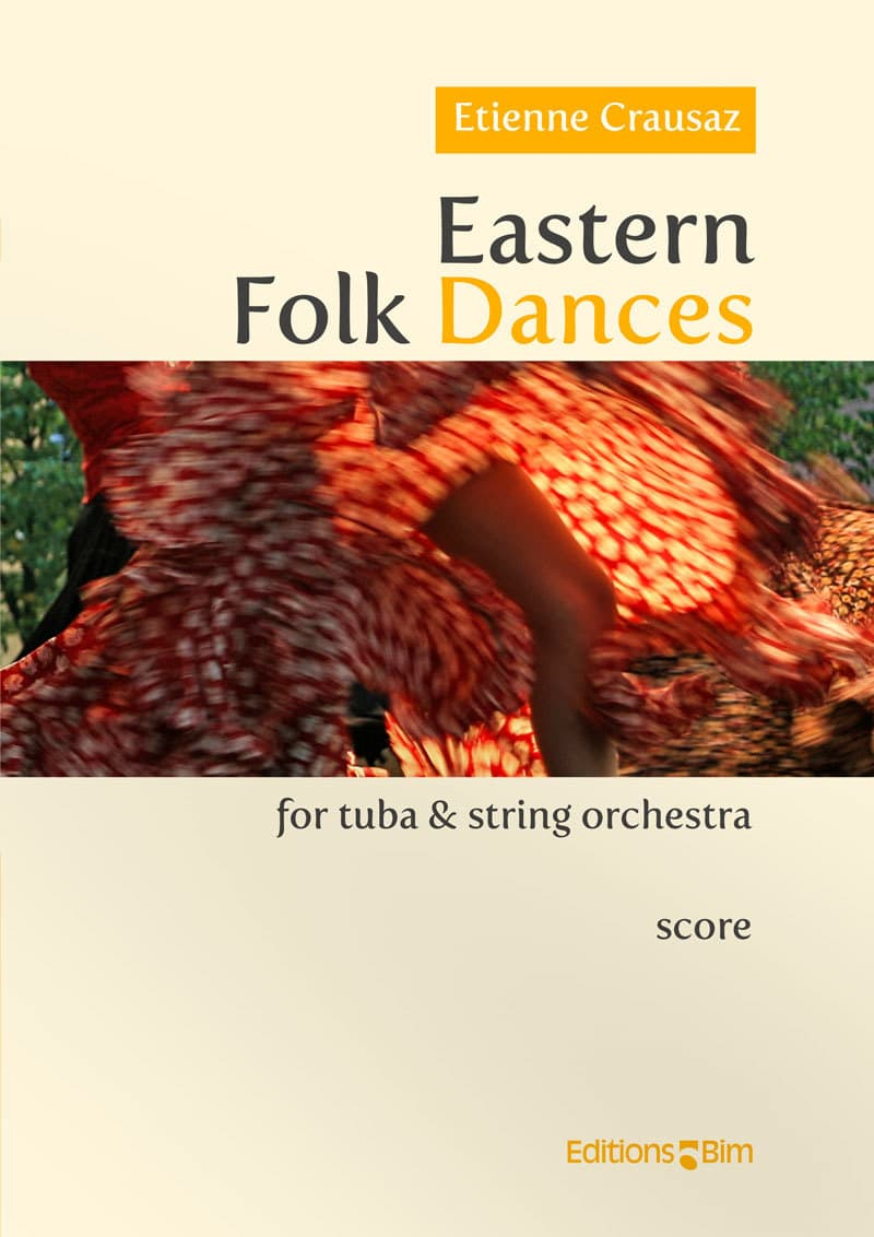 Crausaz Etienne Eastern Folk Dances Tu176B