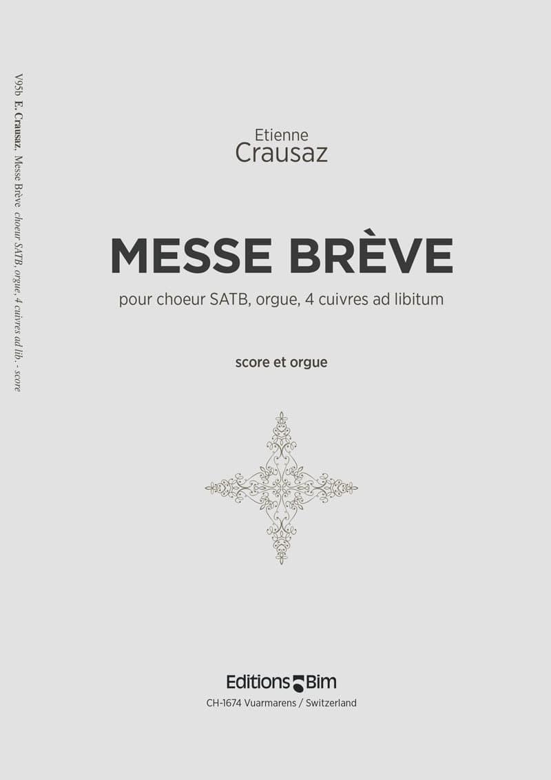 Crausaz Etienne Messe Breve V95B