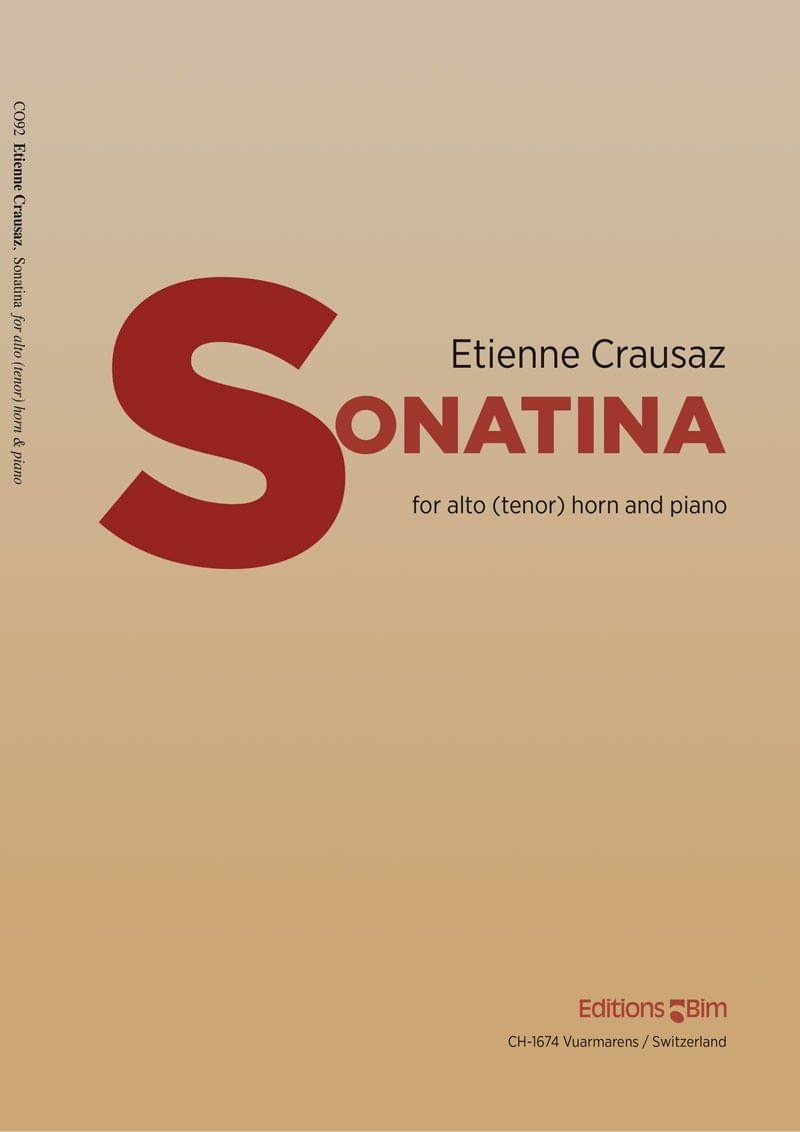 Crausaz Etienne Sonatina Co92