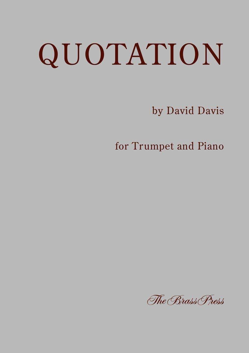 Davis David Quotation Tp139